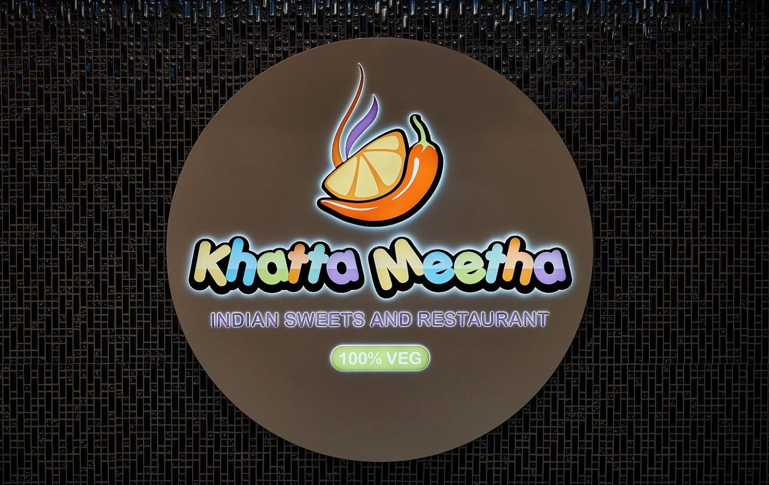 Khatta Meetha signage